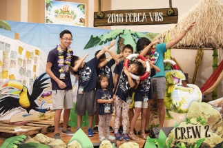 2018 FCBCA VBS Crew 2 Photo silly