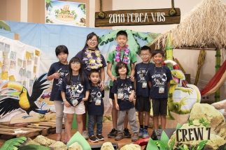 2018 FCBCA VBS Crew 7 Photo