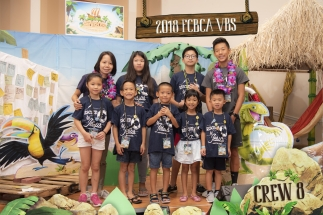 2018 FCBCA VBS Crew 8 Photo