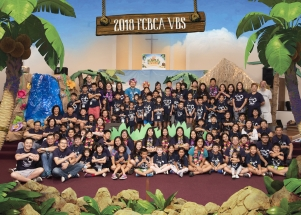 2018 FCBCA VBS Group Picture ALL 5x7